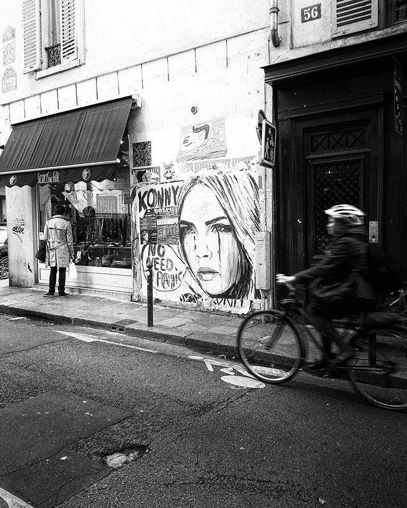 Les rues de Paris 1 - [c] Marcel Borgstijn