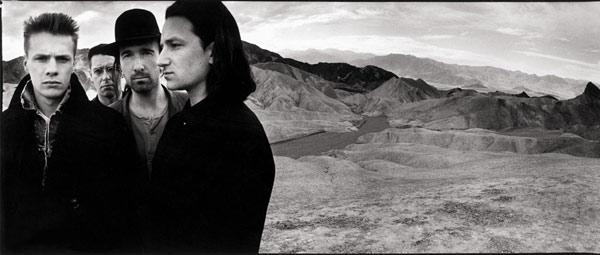U2 Death Valley - [c] Anton Corbijn